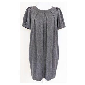 THEORY Gray Shift Dress S